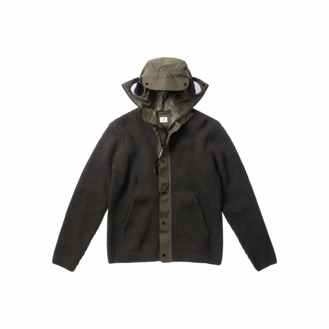 Lambswool Mixed Exploer Goggle Jacket