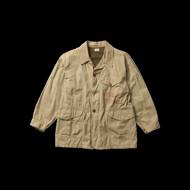 The hybrid hunting and Sahariana jacket
