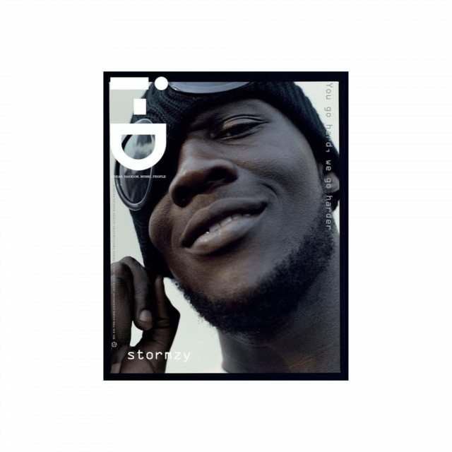 Stormzy Goggle Beanie i-D cover