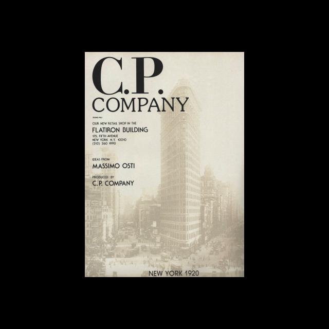 C.P. Company Flatiron store opening ADV