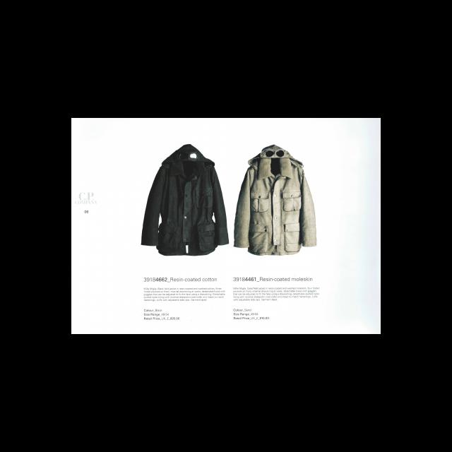 Resin-coated cotton & Moleskin Mille Miglia jackets
