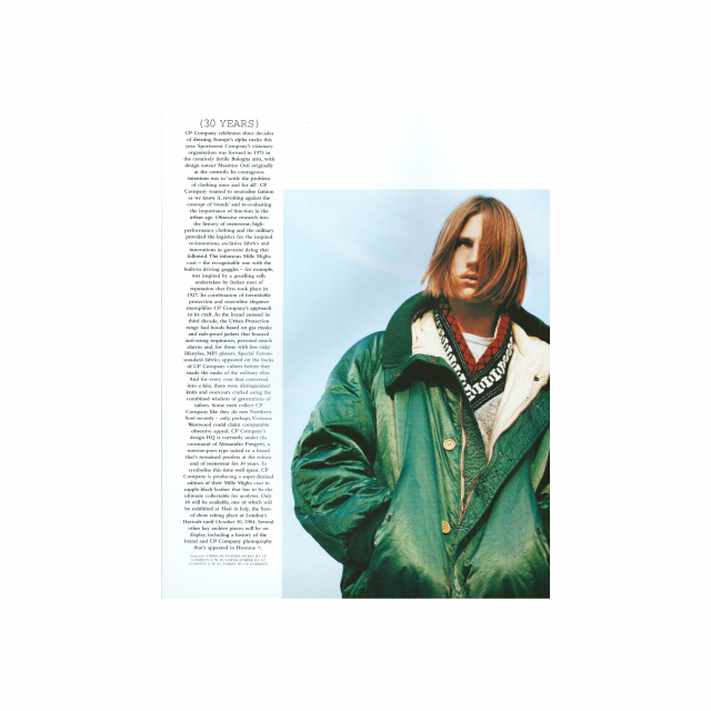 30 years anniversary on Arena Homme +