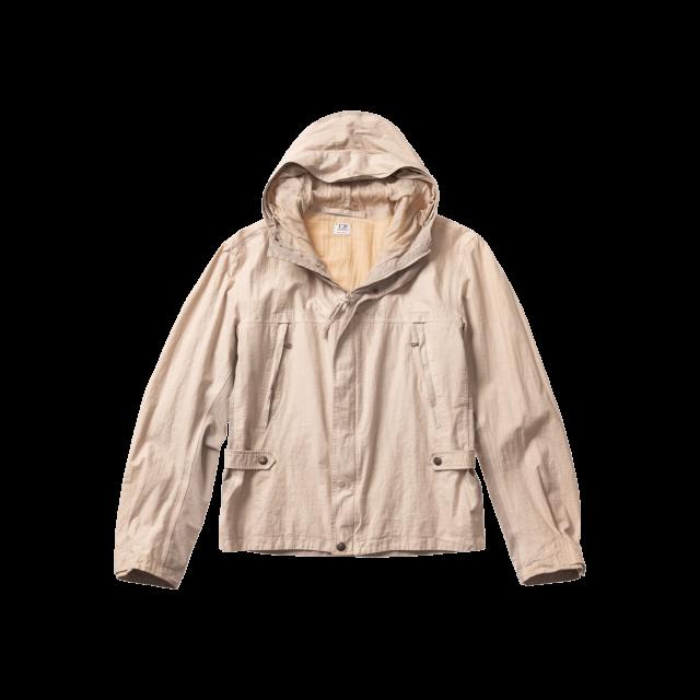 Garment Dyed Linen GORE-TEX mixed Jacket