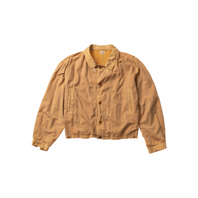 Nylon-cotton twill jacket