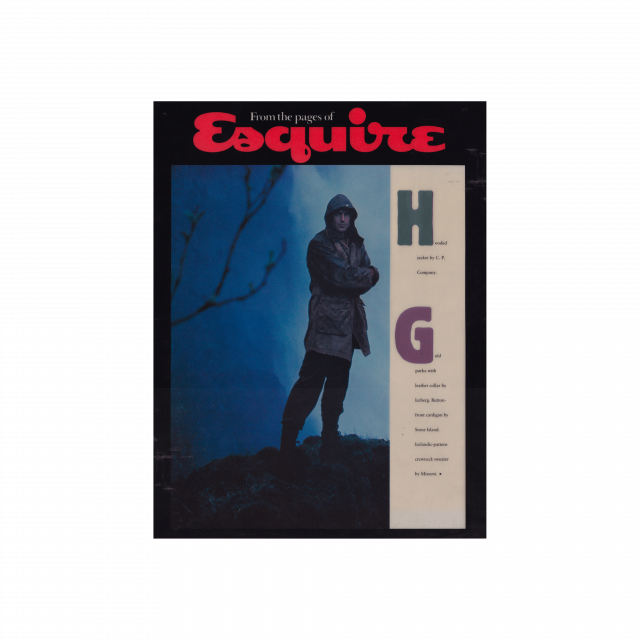 C.P. Company on Esquire UK