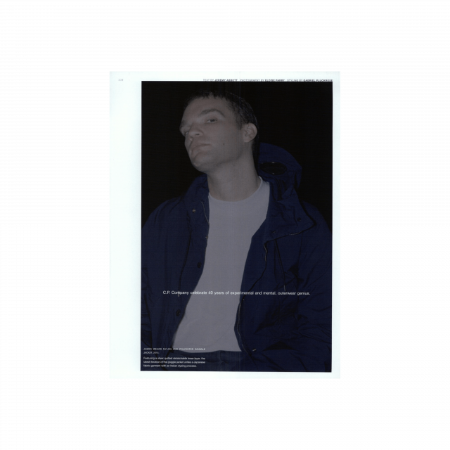 C.P. Company on Man about Town – FW015