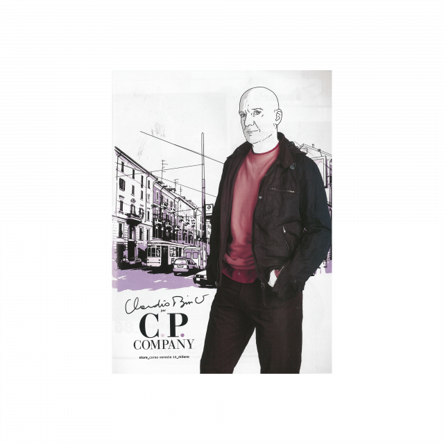 C.P. Company on Man about Town – SS005