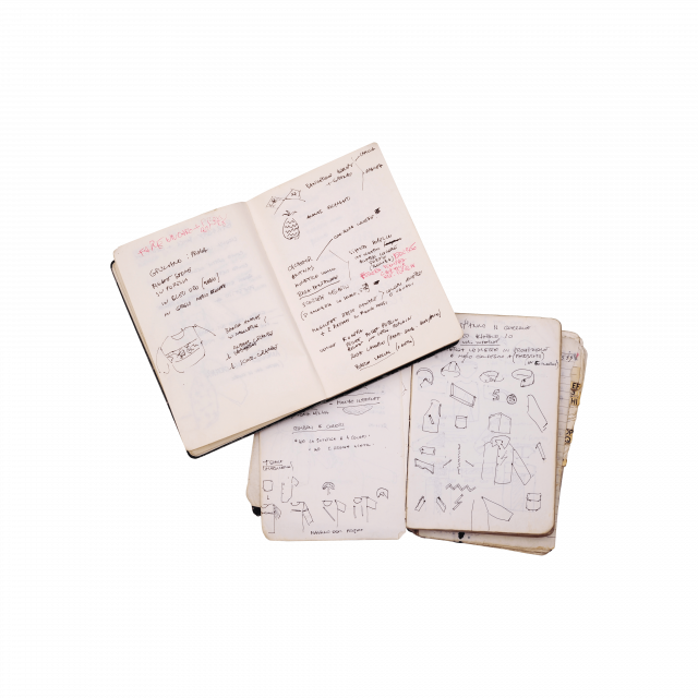 Massimo Osti's sketches